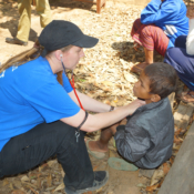 Volunteers Working in Laos