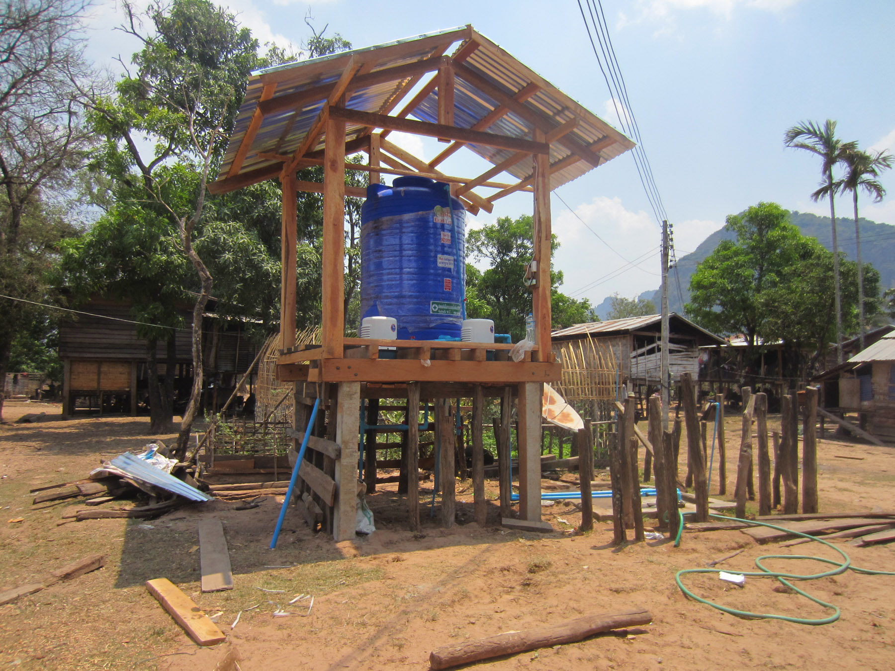 Clean Water Project in Laos