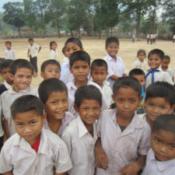 Lao School Children
