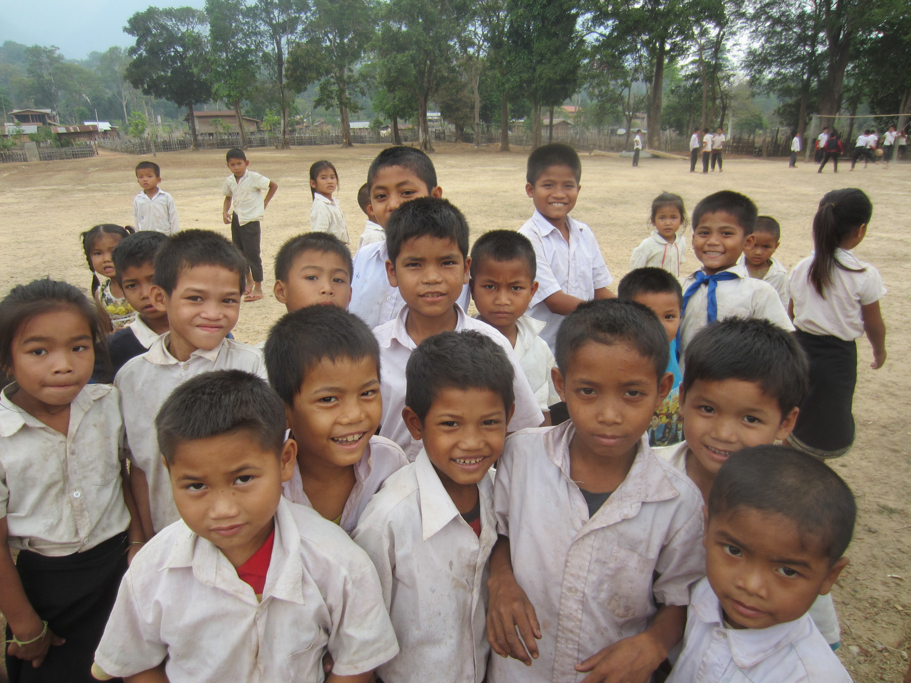 Lao School Children